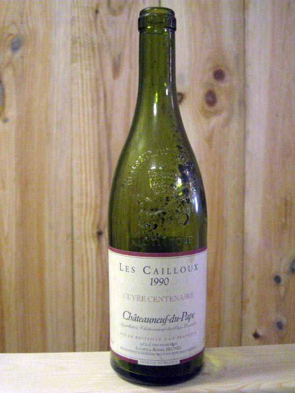 Les Cailloux 1990 Châteauneuf du Pape Lucien et Andre Brunel