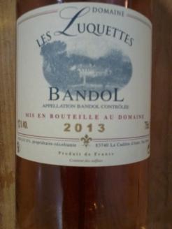 Domaine Les Luquettes Bandol