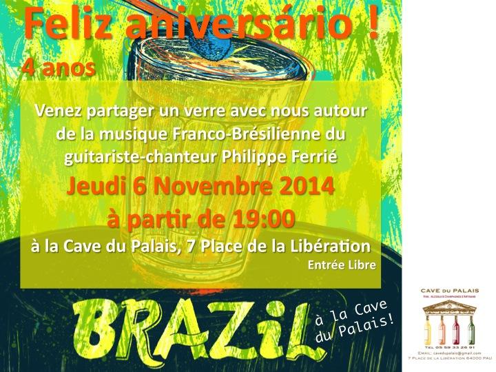 Invitation Cave du Palais