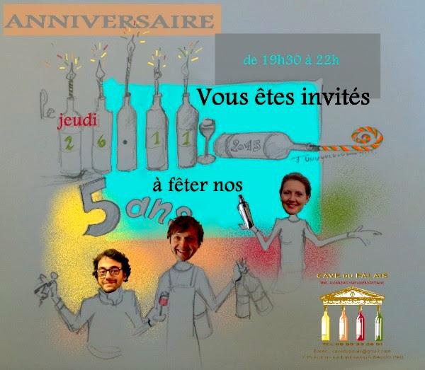 cavedupalais anniversaire